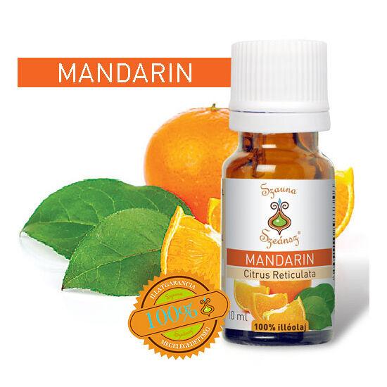 Mandarin 100%-os illóolaj, 10 ml