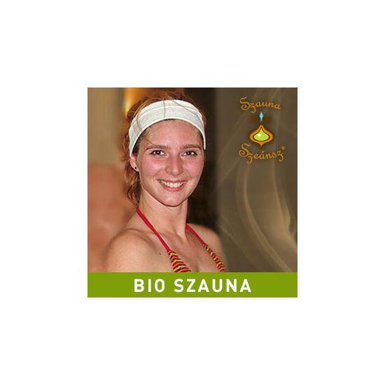2017.05.06. - 20:30: Ruszkabányai Gitta: Kék mélység - Teljes ellazulás, előmelegedés, bensőkre figyelés a természet különleges illataival(BIO szauna) - karszalag: sárga