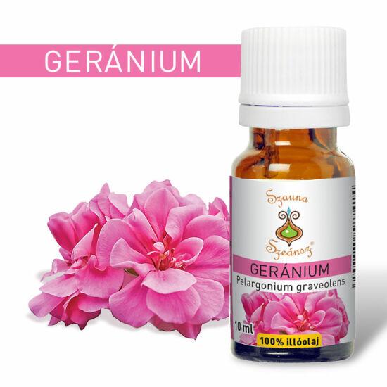 Geránium 100%-os illóolaj, 10 ml