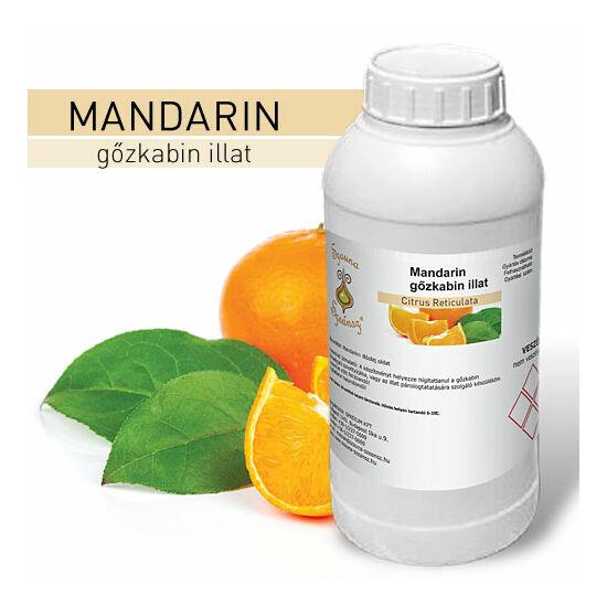 SzaunaSzeánsz® gőzkabin illat - Mandarin 1 liter - CSAK SZEMÉLYES ÁTVÉTEL