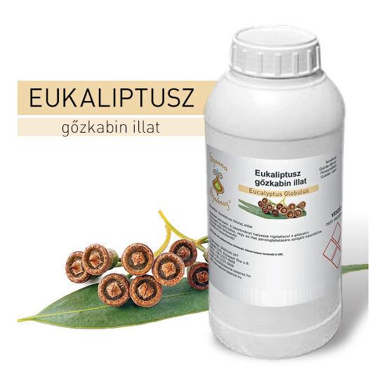 SzaunaSzeánsz® gőzkabin illat - Eukaliptusz 1 liter - CSAK SZEMÉLYES ÁTVÉTEL