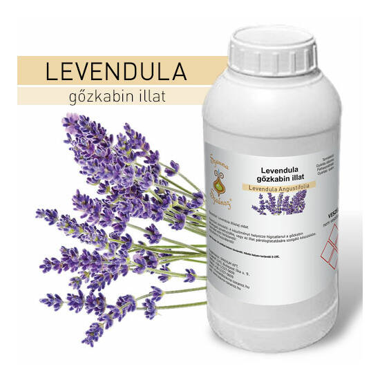 SzaunaSzeánsz® gőzkabin illat - Levendula 1 liter - CSAK SZEMÉLYES ÁTVÉTEL