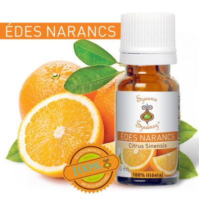 Édes narancs 100%-os illóolaj, 10 ml