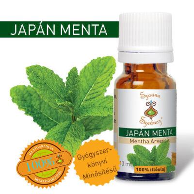 Japán menta 100%-os illóolaj, 10 ml