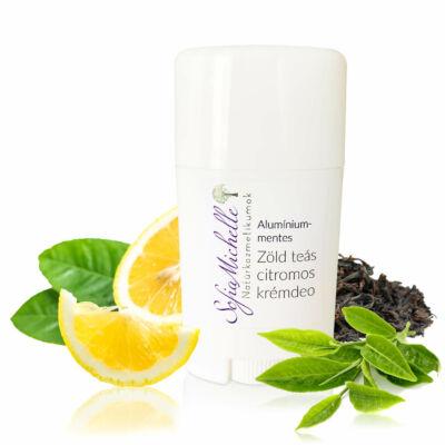 Alumíniummentes zöld teás – citromos krémdeo (45 ml)