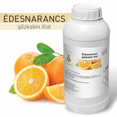 SzaunaSzeánsz® gőzkabin illat - Édes narancs 1 liter - CSAK SZEMÉLYES ÁTVÉTEL