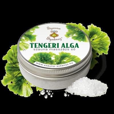 Tengeri alga szauna masszázs só