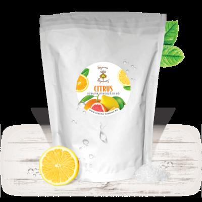 Citrus szauna masszázs só